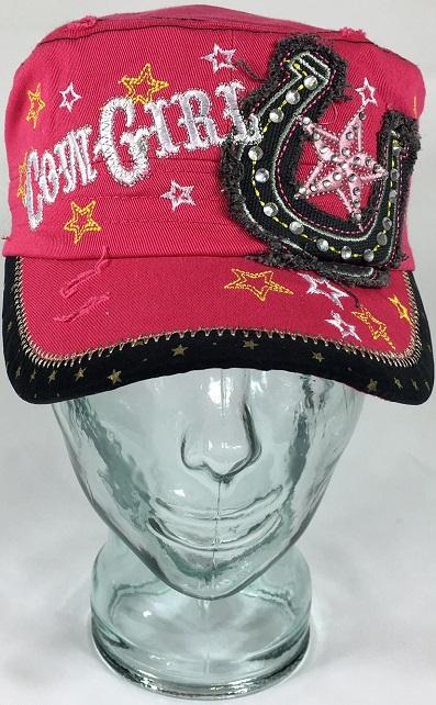 1c3e312525e0b Women s Bling Cowgirl Cadet Hat With RhinestonesBling My Shirt